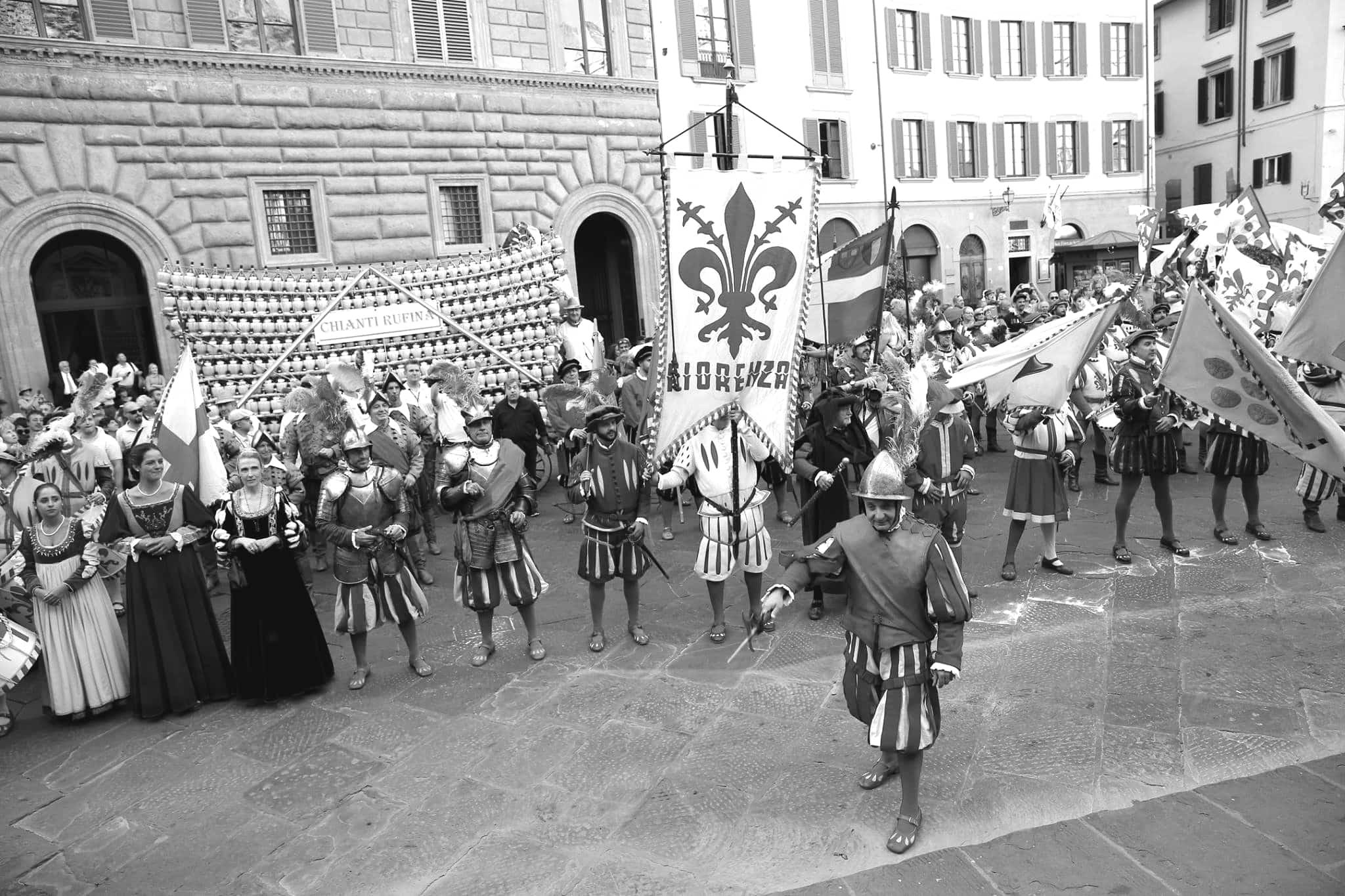 Figuranti del Bacco a Firenze