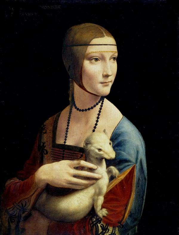 Leonardo - La dama con l'ermellino - The National Museum in Krakow