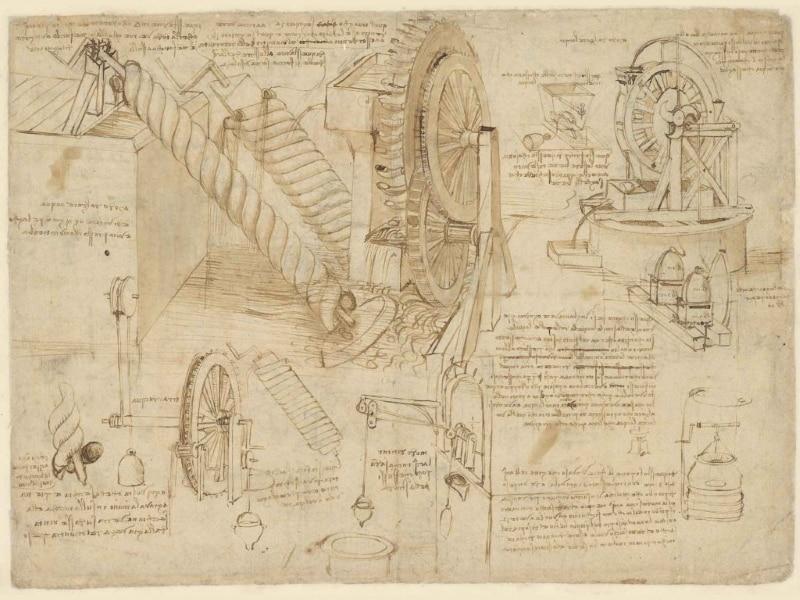 Leonardo, Codice Atlantico - Milano, Biblioteca Ambrosiana