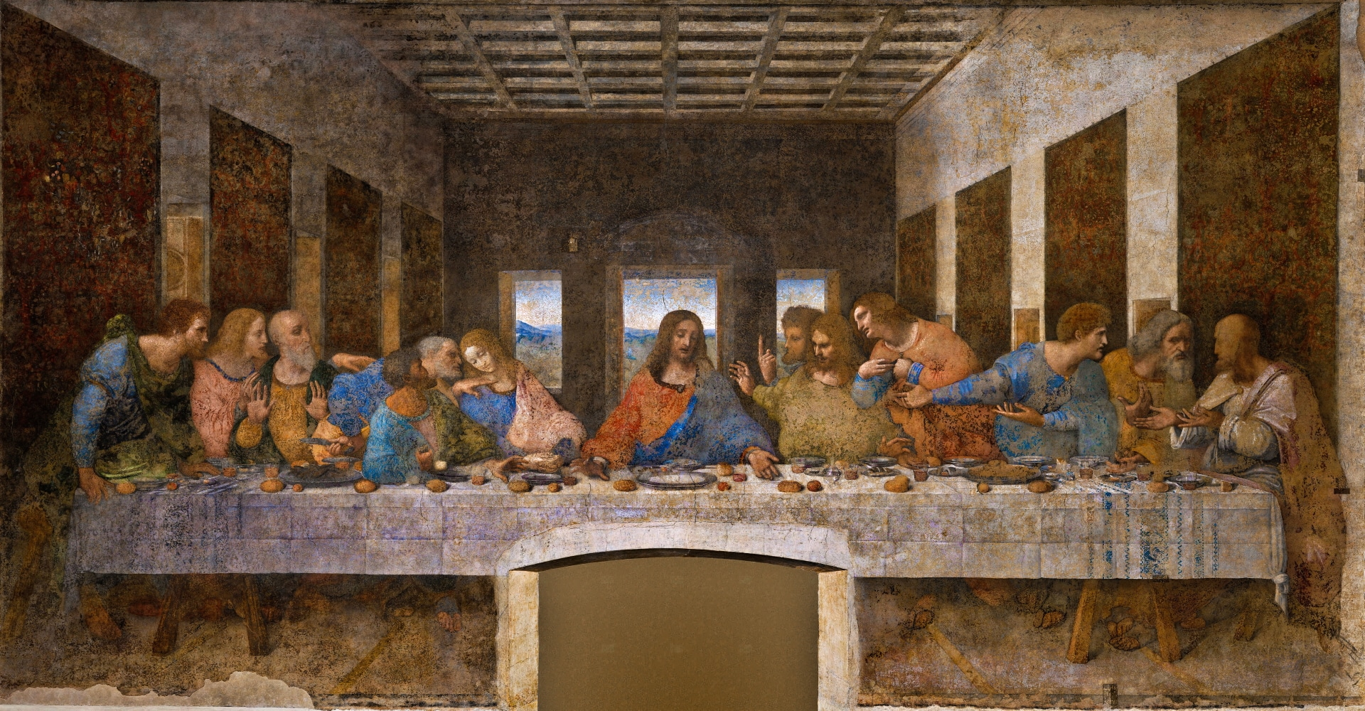 Leonardo da Vinci: l'ultima cena (Milano: 1495-1498)
