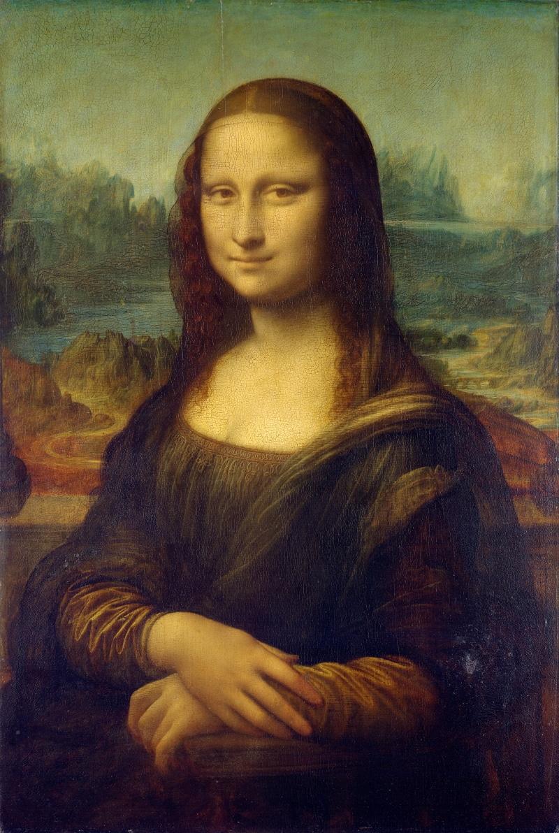 Leonardo, La Gioconda o Monna Lisa - Parigi, Museo del Louvre
