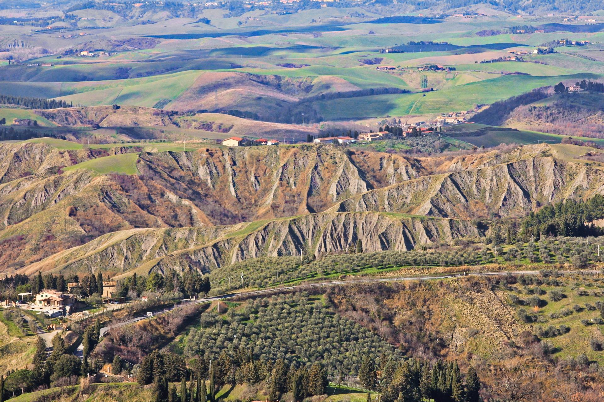 Volterra: calanchi
