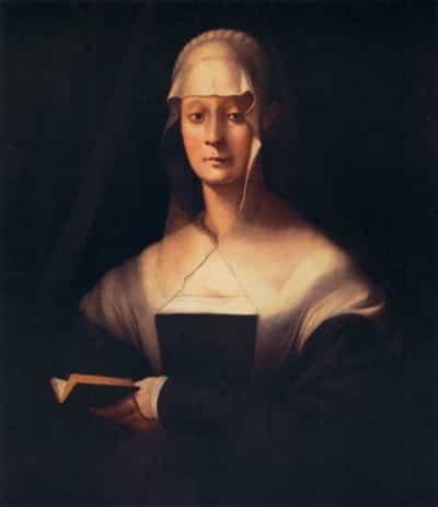 Pontormo: ritratto di Maria Salviati