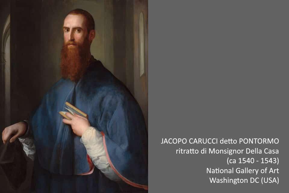 Pontormo: ritratto di Mons. Della Casa