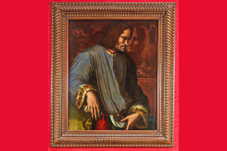 Giorgio Vasari: ritratto di Lorenzo il Magnifico - Firenze, Galleria degli Uffizi