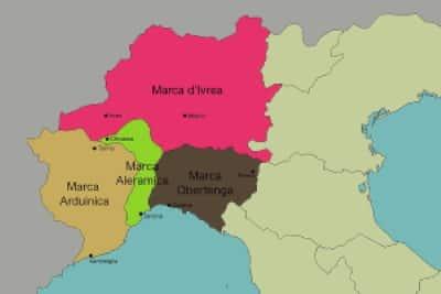 Le marche italiane dei longobardi nel X secolo